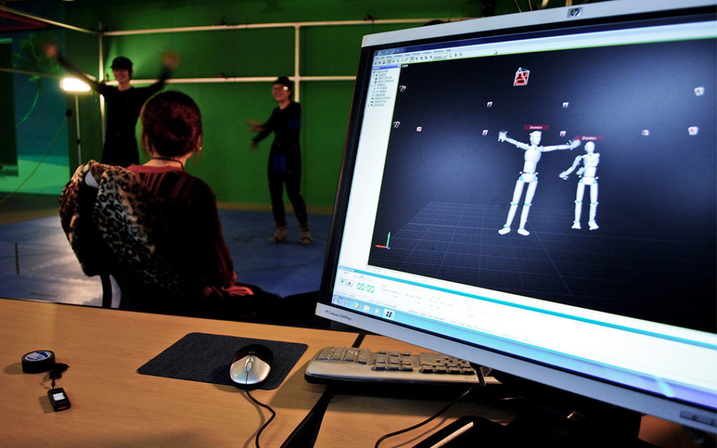 3D Motion Capture, Animation and Hologram Design for Virtual